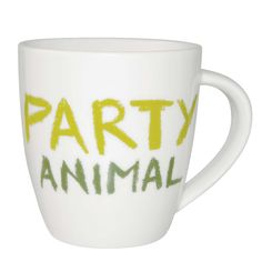 #JamieOliver #Mug #PartyAnimal http://www.palmerstores.com/product/jamie-oliver-cheeky-mug-party-animal/876/