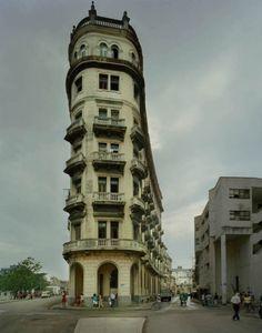 FlatIron Building, Havana, by Michael Eastman