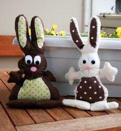 Doudou lapin , Patron couture gratuit - Loisirs créatifs