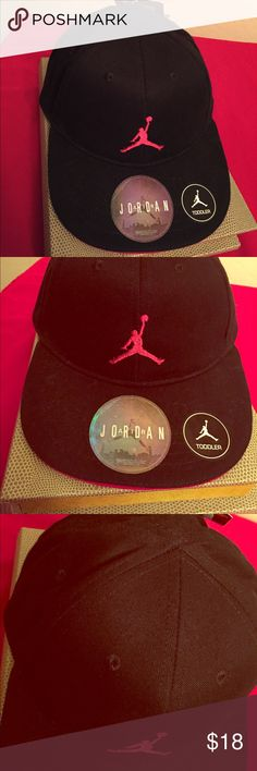 🆕 🏀ONLY 2! Jordan Toddler SnapBack Cap🏀 🏀Authentic Jordan Toddler SnapBack Cap. 2-4T. Black with Embroidered Gym Red Jumpman on the Front. Gym Red SnapBack. Gym Red Underbill & Partial Lining. 100% Cotton. Brand New. Excellent Condition. No Trades. One Cap is NEW, but Missing the Original Tag. . See Other Great Jordan Listings in My Closet.🏀 Jordan Accessories Hats