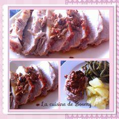 Rôti de porc aux tomates et à la bière WW  - La cuisine de Boomy