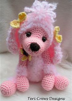 Cute Poodle Crochet Pattern by Teri Crews