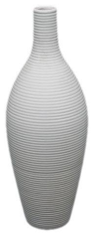 UTC 20103 White Ceramic Vase with Matte by Urban Trends Collection, http://www.amazon.com/dp/B004QZBIEM/ref=cm_sw_r_pi_dp_CKdAqb1ZT9Z06