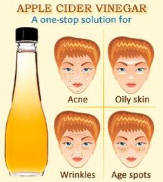DIY - Apple cider vinegar for skin and hair