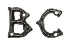 Kirkpatrick 1976 Antique Gothic Style Letters 45mm Kirkpatrick black antique gothic style letters. Letters measure 45mm and are available from A to Z. Kirkpatrick have produced a traditional ironwork collection that will add authentic style and beauty http://www.MightGet.com/january-2017-12/kirkpatrick-1976-antique-gothic-style-letters-45mm.asp