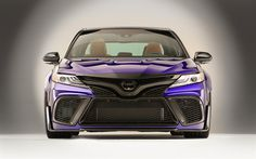 Download wallpapers Toyota Camry, tuning, 2017 cars, new camry, japanese cars, Toyota