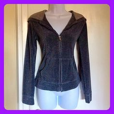 ️Silver Glitter Jacket In good condition sparkly gray sweater from Charlotte Russe.. It's very cute and stylish!  No rips or holes in this sweater.. Shoulders to bottom: 22 inches, sleeves: 24 inches  Charlotte Russe Jackets & Coats