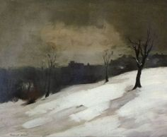 Robert Henri - New York City Snow In Central Park
