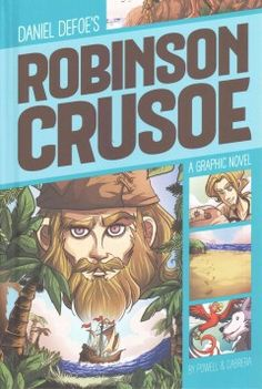 In this graphic retelling of the classic novel, eighteen-year-old Robinson Crusoe runs away from home to travel the world in 1659, and ends up shipwrecked on a deserted island where he lives for more than twenty-eight years, facing many dangers with a native he rescues from cannibals, and calls Friday.