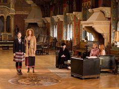 Rubinrot - Gwendolyn (Maria Ehrich), Grace (Veronica Ferres), Lady Arista (Gerline Locker), Glenda (Sibylle Canonica) & Charlotte (Laura Berlin)