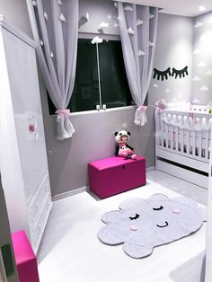 Your inspiration here Toys, Kids & Baby - Kinderzimmer Design Baby Bedroom, Baby Room Decor, Nursery Room, Boy Room, Girl Nursery, Girls Bedroom, Bedroom Decor, Bedroom Ideas, Girl Rooms