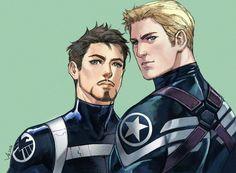 #Stony #IronMan #TonyStark #CaptainAmerica #SteveRogers #CommanderRogers #DirectorStark