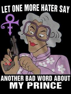 I heard that!!  You go girl!