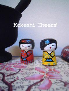 Champagne cork geisha