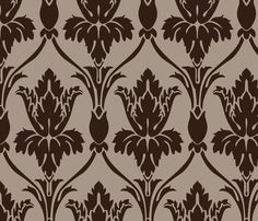 Sherlock Smiley Wallpaper fabric by mellymellow on Spoonflower - To make a covered bulletin board
