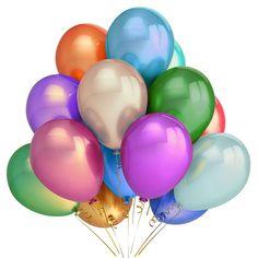 300x LARGE METALLIC PARTY BALLOONS Pearl Wedding//Birthday//Function//Decoration