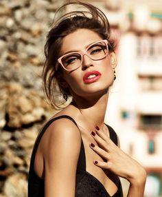 714fe2d5a15 Dolce  amp  Gabana Pink Glasses Model DG 3107 Color code 2585 Specs