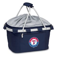 The Texas Rangers Metro Basket Insulated Tote