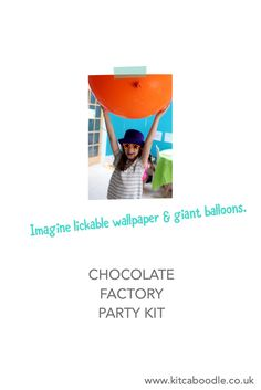 Giant Balloons | Chocolate Factory Party Kit | Charlie and the Chocolate Factory Party Inspiration | Kit & Caboodle Parties