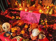 decoração de festa mexicana dia dos mortos - Pesquisa Google