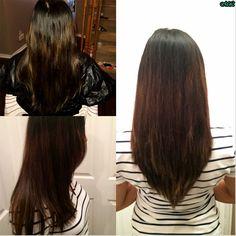V cut Layers #hairbymichlopez #layers #longhair #vcut #longlayers