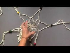 Make a hanging macrame planter in under an hour
