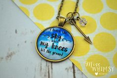 I Touch The Sky When My Knees Hit The Ground by misswhimsy on Etsy
