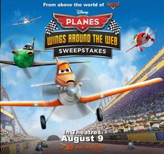Have you entered the Wings Around The Web Sweepstakes yet? Get started and play the game now over on sites like Radio Disney and Disney.com: http://di.sn/aFB