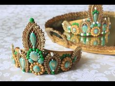 NEW VIDEO: How to Make 3-D Embossed Cookie Tiaras by Julia M Usher.