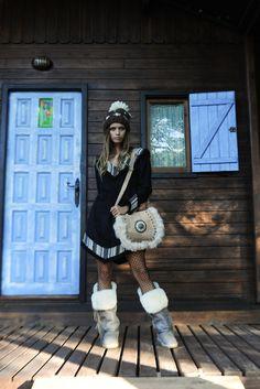 Look Irina Dress y Bolso Zhenya Boho Chic, Punk, Dresses, Style, Fashion, Vestidos, Fall Winter, Swag, Moda