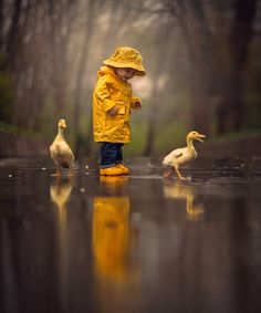 Photograph Rainy Day Friends by Jake Olson Studios on 500px