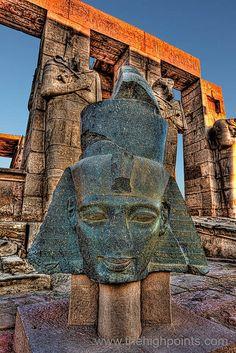 Rameses II's Granite Head