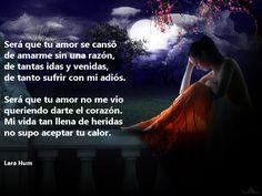 Lara Hum. http://www.larahum.blogspot.com.ar/ Frases de amor, poemas, letras de canciones.