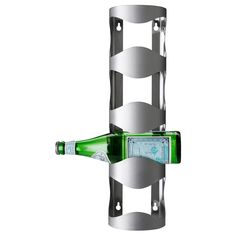 VURM 4-bottle wine rack - IKEA $9.99 can be placed on its back or hung on wall.