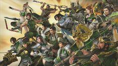 Dynasty Warriors 7 - Shu is still my fave team Warriors Game, Dynasty Warriors, Samurai Warrior, Dark Souls, Chibi, Character Design, Marvel, Fan Art, Wallpaper