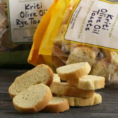 Kriti Olive Oil Toasts: Available at igourmet.com - Gourmet Gifts via www.americasmall.com/igourmet-gifts