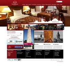 Sultanhan Hotel Design & HTML
