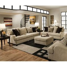 Simmons Upholstery Trinidad Living Room Collection