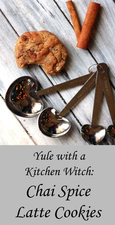 Yule with a Kitchen Witch: Spicy Chai Snickerdoodles – Moody Moons - My Shop Wicca Recipes, Baking Recipes, Dessert Recipes, Desserts, Candy Recipes, Chai, Kitchen Witchery, Christmas Treats, Christmas Candy