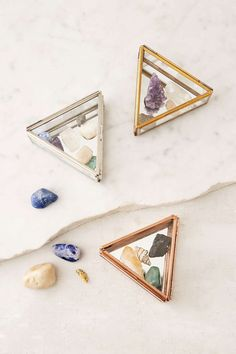 Triangle Glass Box - Urban Outfitters