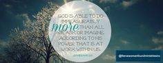 """Welcome to Week Six/Day One: """"Blessings from Zion...God talks back"""""""