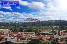 Castillo de Denia desde El Verger. Spain