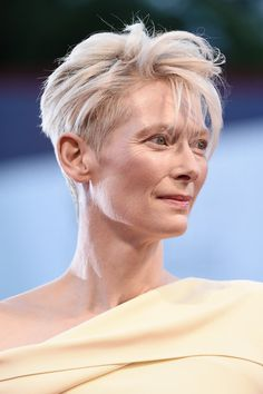 Tilda Swinton Photos - 'A Bigger Splash' Premiere - 72nd Venice Film Festival - Zimbio