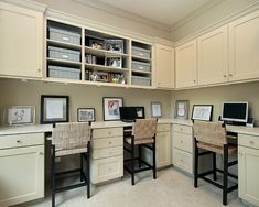 Home Office Craft Rooms Design, Pictures, Remodel, Decor and Ideas - page 36