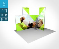 modularer Messestand einfach profairssional