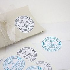 personalised wedding stickers by studio-sweepings | notonthehighstreet.com