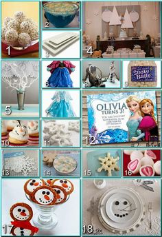 Frozen Party Board from Disney Donna Kay