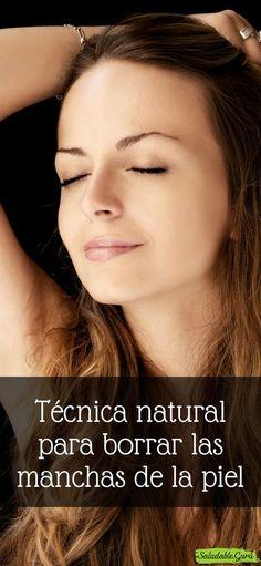 Técnica natural para borrar las manchas de la piel. #Técnica #natural #borrarmanchasdelapiel #saludable #salud #cutis #rostro #cuidado #hidratar #dermis #epidermis #cremacasera #potasio #magnesio #perejil #jugodelimón #vinagredemanzana #locio #poros #cara