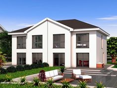 finesse 120 doppelhaus von bau braune inh sven lehner. Black Bedroom Furniture Sets. Home Design Ideas