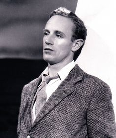 "Leslie Howard from 1936's movie, ""The Petrified Forest."""